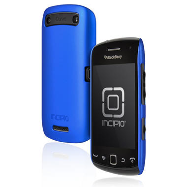 Incipio BlackBerry Curve 9380 feather Utralight Hard Shell Case - Iridescent Blue