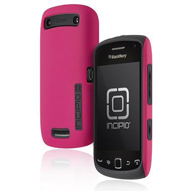 Incipio BlackBerry Curve 9380 SILICRYLIC Hard Shell Case with Silicone Core - Pink/Gray