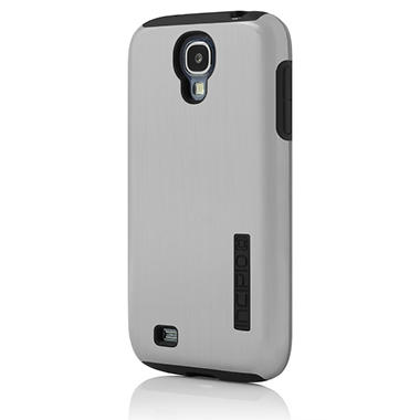 Incipio Dual Pro Shine Case for Samsung Galaxy GS4 - Silver/Black