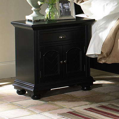Addison Black Nightstand