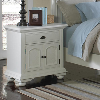 Addison White Nightstand