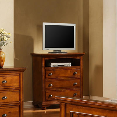 Addison Chestnut Media Chest