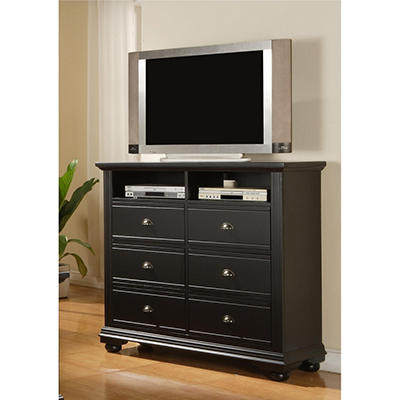 Addison Black Media Chest