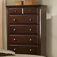 Brinley Cherry Five Drawer Chest