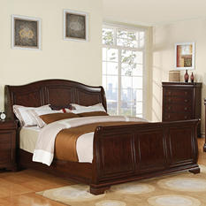 Conley Sleigh Bed (Choose Size)