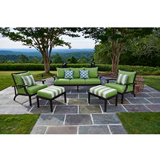 Pasadena 5-Piece Seating with Premium Sunbrella Fabric