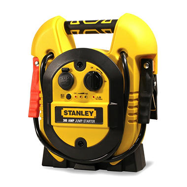 Stanley 300 Amp Jumpstarter with Built in AC Charger