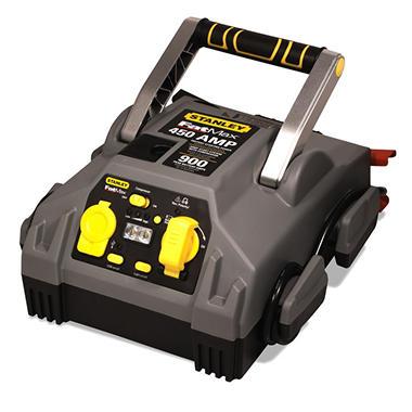 Stanley 450 Amp Jump Starter with Compressor