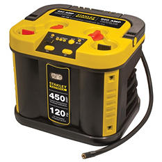 STANLEY FATMAX 450 Amp Jump Starter with Compressor