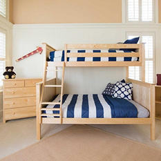 Jackpot! Twin over Full Bunk Bed (Assorted Colors)