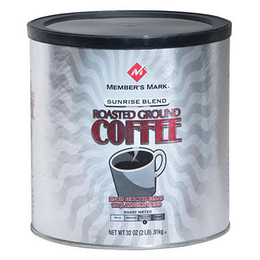 Member's Mark Sunrise Blend Roasted Ground Coffee (32 oz.)