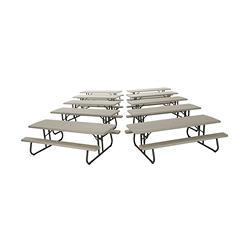 Lifetime 8-Foot Picnic Table (10 pk.)