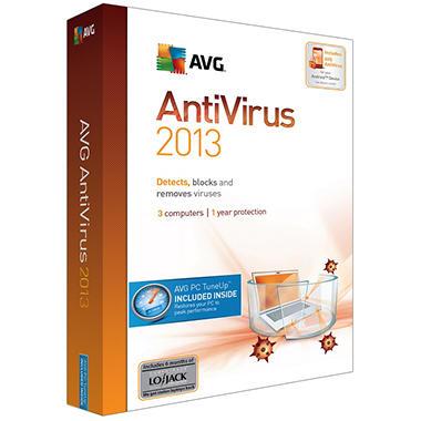 AVG Antivirus + PC TuneUp 2013 - 3-User 1Yr - PC