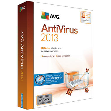 AVG Antivirus + PC TuneUp 2013 - 3-User 1Yr - PC