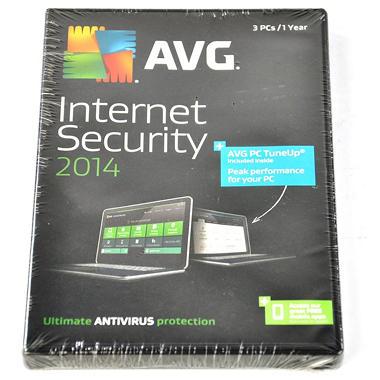AVG Anti-Virus + PC TuneUp 2014, 3-User 1-Year