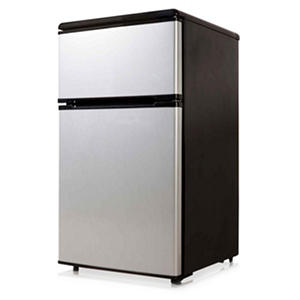 Equator-Midea 3.1 cu. ft. Double-Door Compact Refrigerator