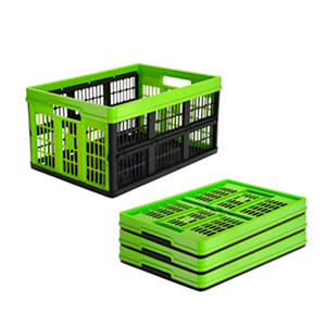 Clever Crates 45-Liter On-Demand Folding Crate (Assorted Colors)
