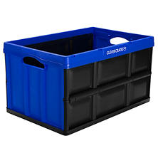 Clever Crates 62-L/16.3-Gl Folding Crate - 3-pk (Multiple Colors)