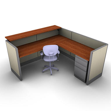 SNAP!Office - Task Oriented Work & Reception Station - Gap Swing Color Combo