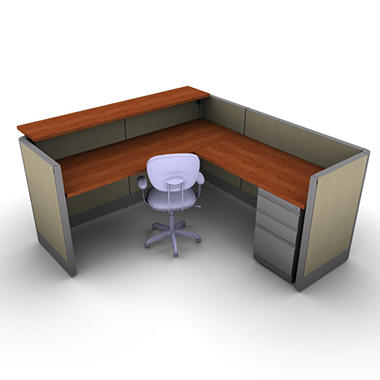 SNAP!Office - Task Oriented Work & Reception Station - Urban Jungle Color Combo