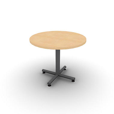 "SNAP!Office 36"" Round Table - Fusion Maple"