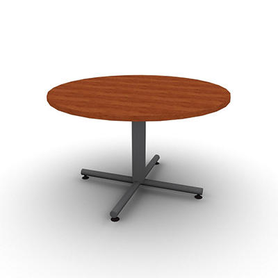 "SNAP!Office 48"" Round Table - Amber Cherry"