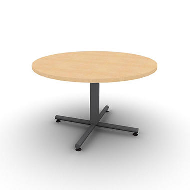 "SNAP!Office 48"" Round Table - Fusion Maple"