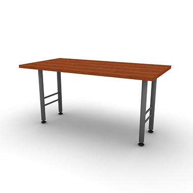 "SNAP!Office 30"" x 60"" Linear Table - Amber Cherry"