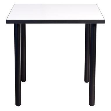 SNAP!office - Square Write Table with Post Legs - White - 36""