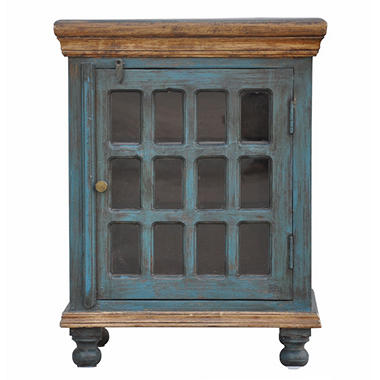 Glass Accent Cabinet