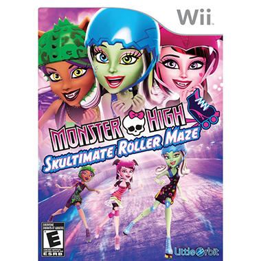 Monster High Skultimate Roller Maze - Wii
