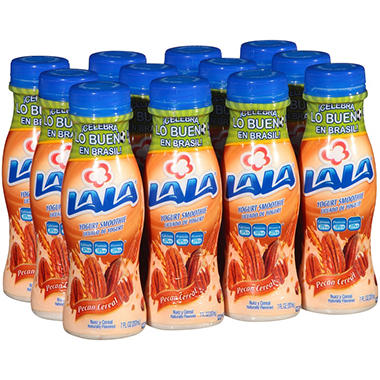 Lala Pecan Cereal Yogurt Smoothies - 6.3 oz. - 12 pk.