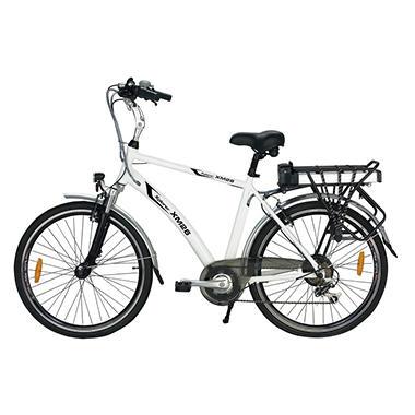 Yukon Trail Xplorer XM26 7-Speed Lithium Powered Electric Bike - White