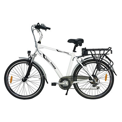Yukon Trail Xplorer XM26 7-Speed Lithium Powered Electric Bike - White