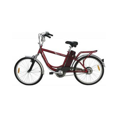 Yukon Trail Navigator SM24 Male Single Speed Eco-Friendly Electric Bike - Red