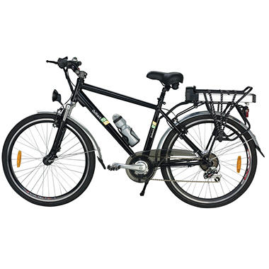 Yukon Trail Outback 26 7-Speed Lithium Powered Electric Bike - Black