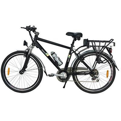Yukon Trail Outback 26 7-Speed Lithium Powered Electric Bike - Black