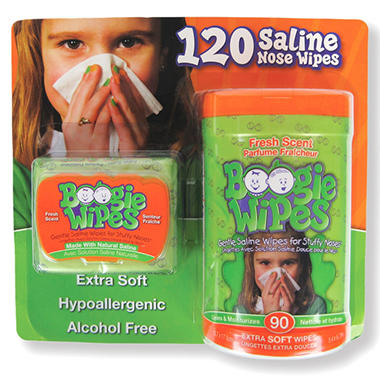 Boogie Wipes - 120 ct.
