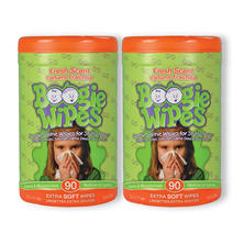 Boogie Wipes Saline Nose Wipes, Fresh Scent, 180 ct.