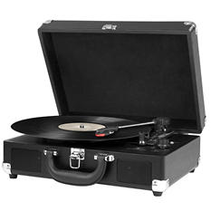 Suitcase 3 Speed Turntable with Bluetooth - Various Colors
