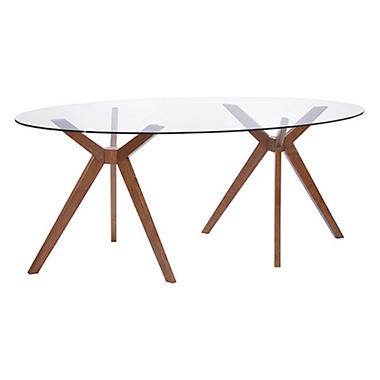 Delta Walnut Dining Table    100090