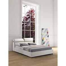 Charlotte White Bed (Choose Size)