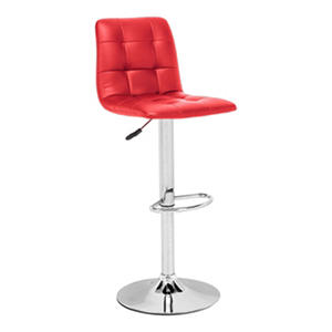 Oxygen Adjustable Swivel Bar Stool (Assorted Colors)