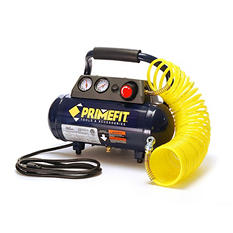 Primefit CM00301 125-PSI Home Workshop Air Compressor with Regulator and Control Panel