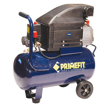 Primefit 6 Gallon Portable Air Compressor - Oil Lubricated