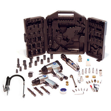 Primefit 50 Piece Air Tool Kit with Bonus Tire Inflation Tool