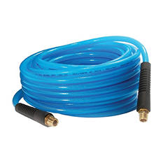 Primefit PU140502-B Reinforced Premium Polyurethane Air Hose with Field Repairable Ends, 1/4-Inch by 50-Foot, 200-PSI