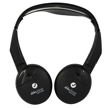 True Fidelity Infrared Wireless Headphones