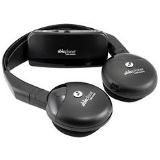 True Fidelity Infrared Wireless Headphones
