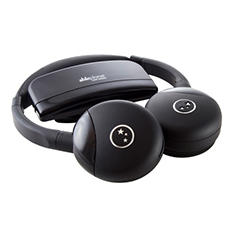 Able Planet Personal Sound Wireless On the Ear Infared Heaphones with Single Channel